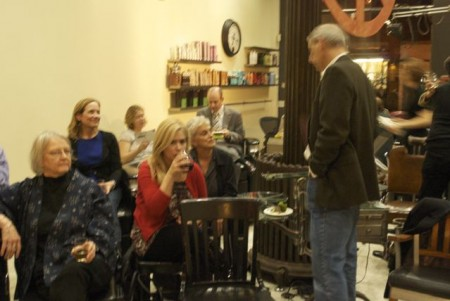NYC top hair salon hosts artistic events
