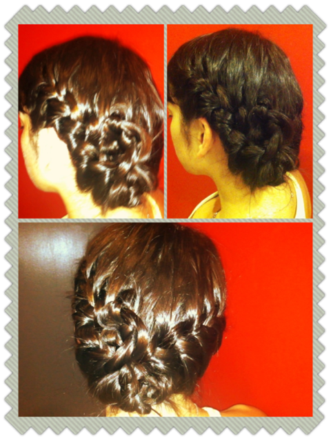 Braided updo_updo braids