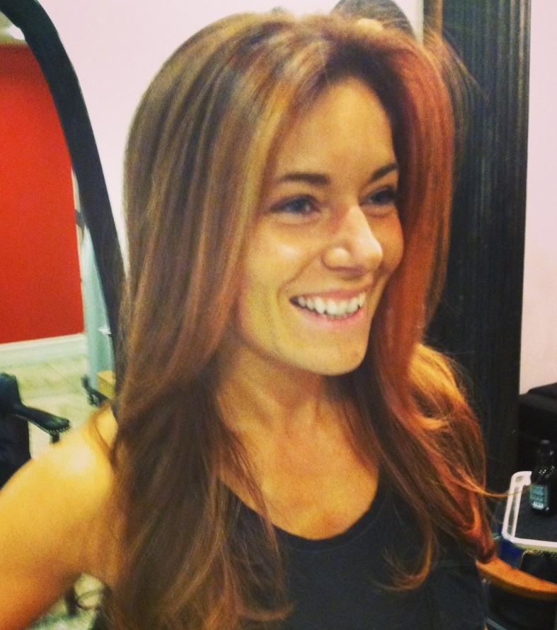 Hair salons Tribeca: pictures of real people with balayage