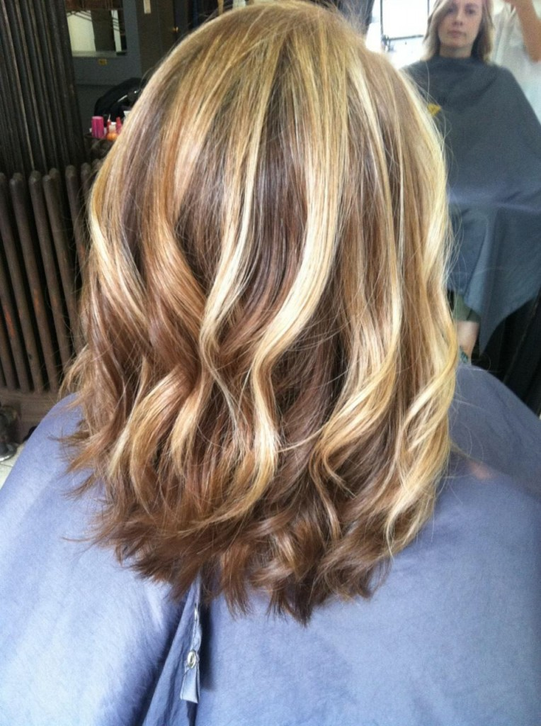 Light Blonde Hair With Highlights Images Nahid Pearson Photo