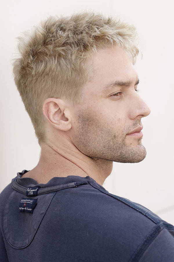 mens bleached hairstyles